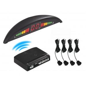Image of Kit 4 sensori parcheggio display led cicalino acustico 8056588748522