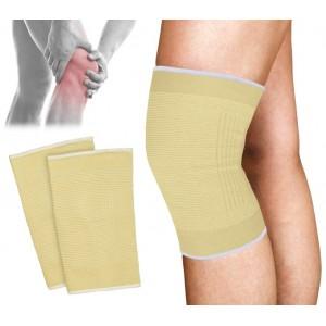 068089 Supporto a fascia per ginocchio in cotone elastico EVERTOP ginocchiera
