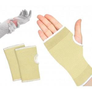 068089 Set 2 supporti a fascia per polso in cotone elastico EVERTOP polsiera