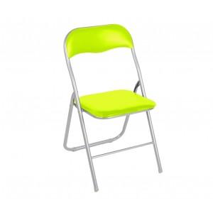 Image of 2008AN0816 Set 6 sedie pieghevoli colorate ass. Oslo imbottita con base metallo 6970510520241