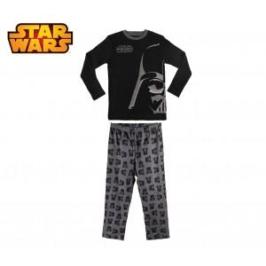 1724 Pigiama da bambino con grafica di Star Wars in caldo cotone da 6 a 12 anni