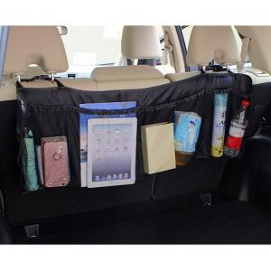 899997 Organizzatore 6 posti salvaspazio auto bagagliaio da fissare ai sedili