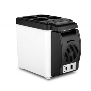 203002 Frigo portatile da auto 2 in 1 caldo e freddo 6 litri alimentazione 12 V
