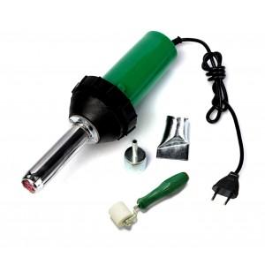 2993 Pistola aria calda per parti plastiche e resine 1500W con accessori e rullo