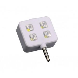 Image of 221791 Mini flash 4 led per selfie compatibile con dispositivi Samsung e Apple 6905686221791