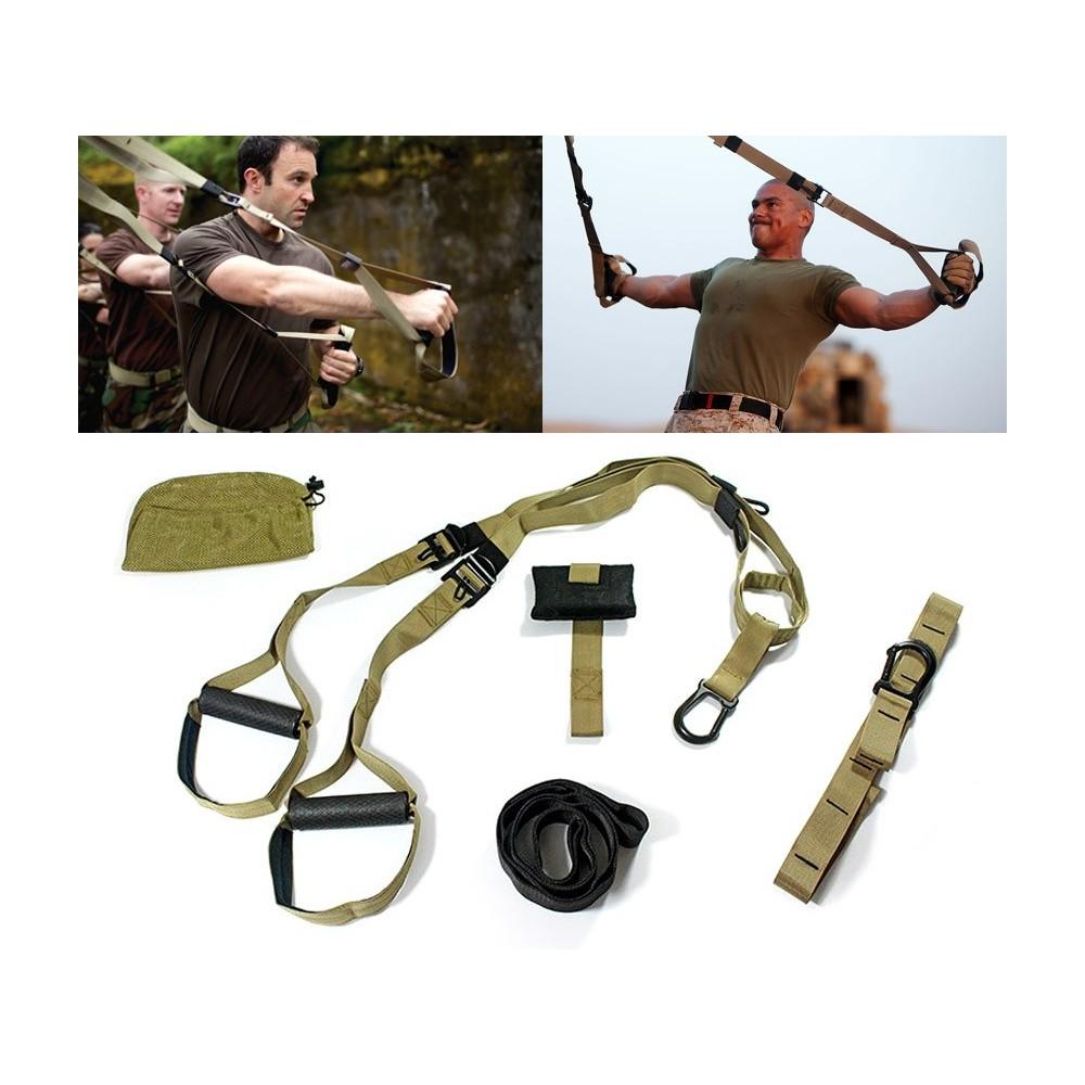 626294 Kit per allenamento militare in sospensione attrezzi multifunzione