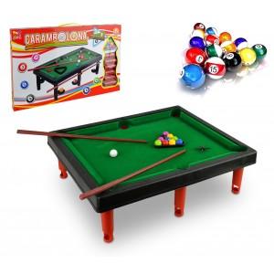 Image of 154615 Mini biliardo giocattolo per bambini con due stecche biglie e accessori 6902367501296