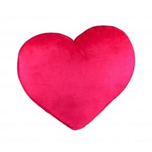 826117 Cuscino 3D morbido a forma di cuore Anna ed Elsa Frozen 38 x 35 cm