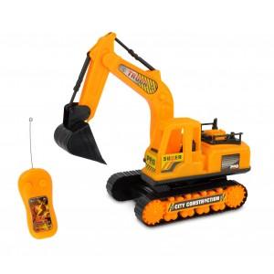 377618 Ruspa giocattolo radiocomandata con braccio meccanico e movimenti reali