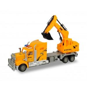 Image of 37738 Camion scavatutto da lavoro radiocomandato 4 funzioni in tre colori 6986021486518