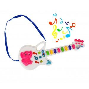 Image of 103855 Chitarra giocattolo Baby Pop con luci melodie preimpostate e tracolla 6905164890327