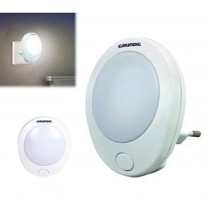 41342 Lampada luce notturna a LED risparmio energetico con interruttore Grundig