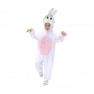 227639 Costume a Tutina Coniglio Bianco Bimbo - Bimba da 1 a 4 anni