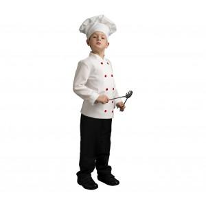 368714 Costume Chef Bambino Bambina