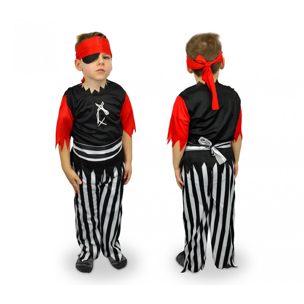 537400 Costume carnevale travestimento Pirata Bambino da 3 a 12 anni