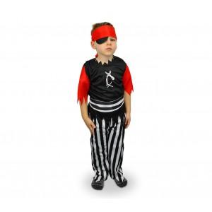 537363 Costume Pulcinella Bambino