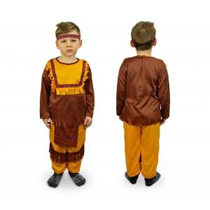 Image of 537547 Costume carnevale travestimento Indiano da Bambino da 3 a 12 anni 6933816408101