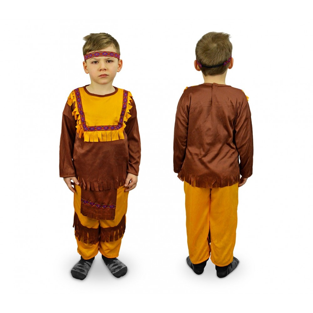 8541db256a38 537547 Costume di carnevale Indiano da Bambino da 3 a 12 anni