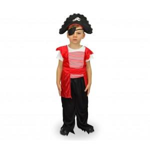 616969  Costume Corsaro Bambino da 3 a 12 anni