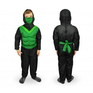 537622 Costume di carnevale Ninja da Bambino da 3 a 12 anni