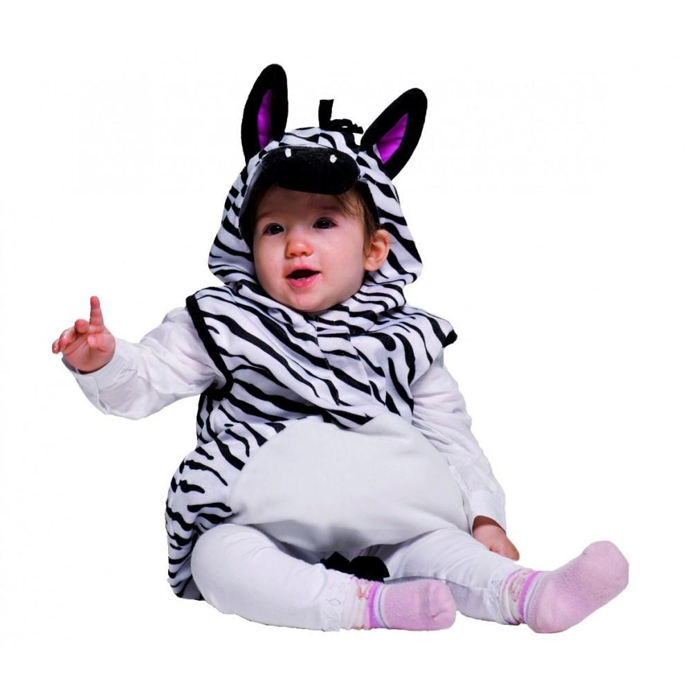 985033 Costume Zebra Bambina 12 Mesi