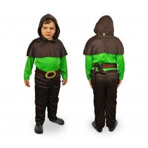 537493 Costume di carnevale Re della Foresta da Bambino da 3 a 12 anni