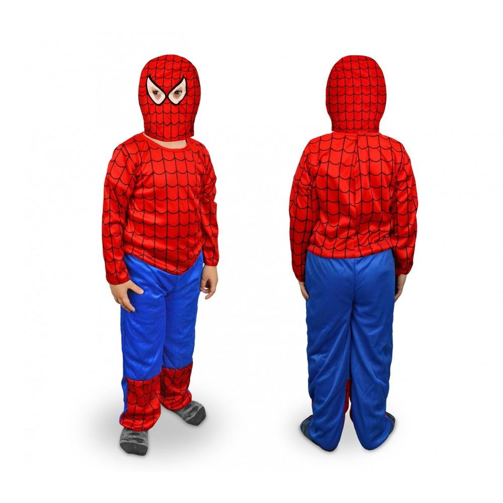 538100 Costume carnevale travestimento Supereroe Ragno da Bambino da 3 a 12 anni