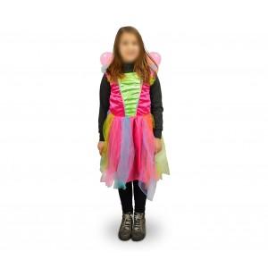 616945 Costume di carnevale da farfalla da Bambina da 3 a 12 anni