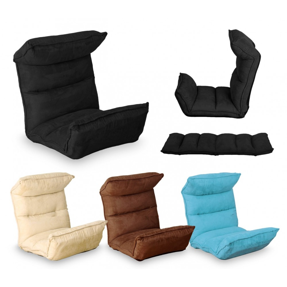 Poltrona relax regolabile Sofà mod Milù reclinabile divano velluto
