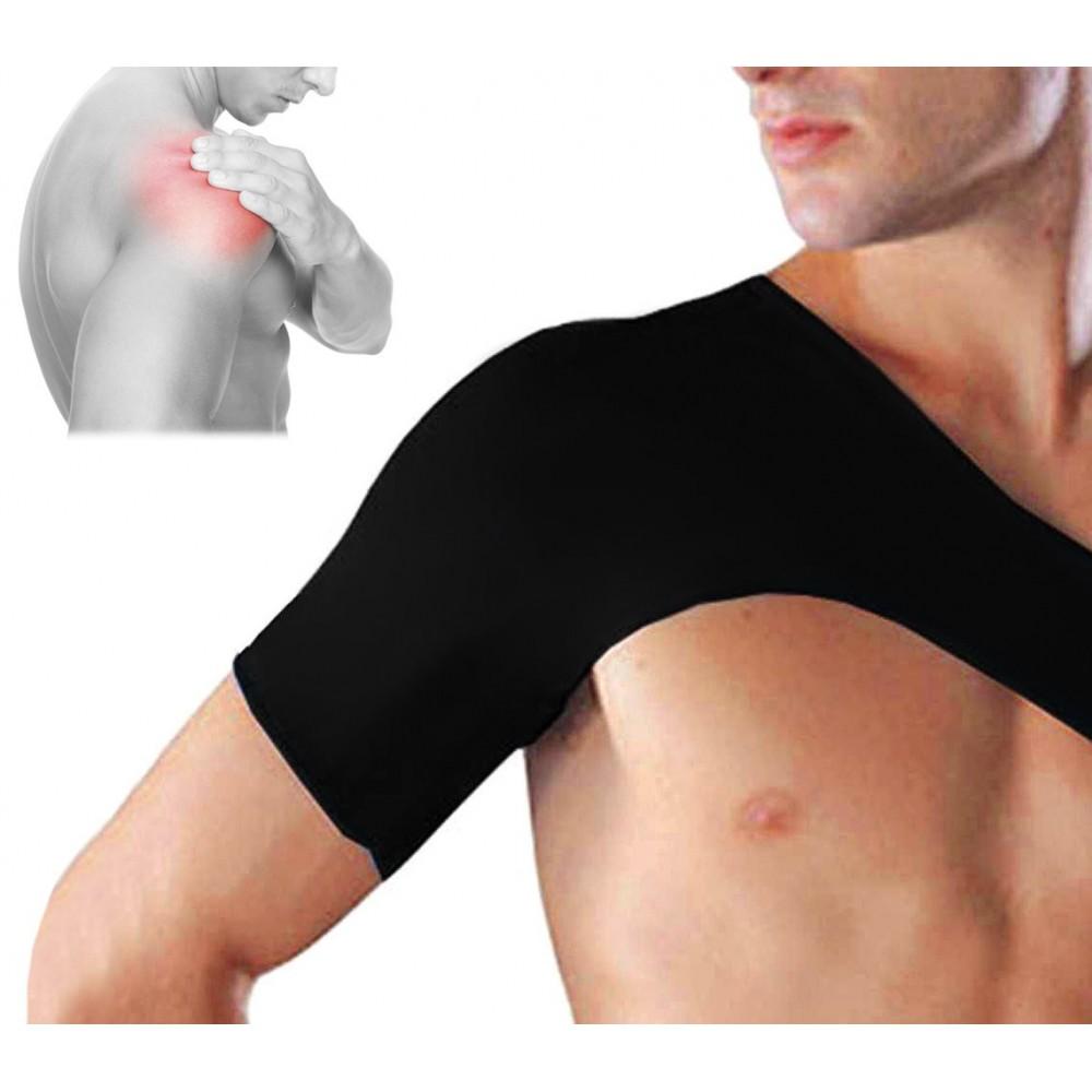 Supporto tutore spalla fascia elastica sostegno allevia dolori lussazioni