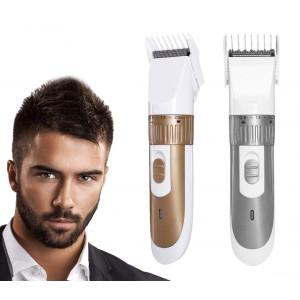 SN-5900 Rasoio elettrico per capelli e barba regolabile da 0.8-2 mm con pettine