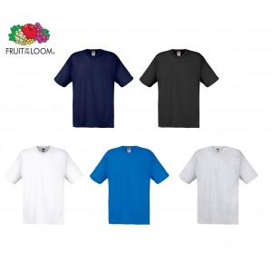 69622 Kit da 10 t-shirt Fruit Of The Loom da uomo in cotone vari colori
