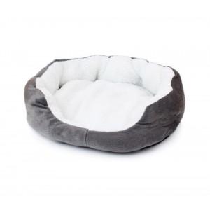 Image of Cuccia per cani e gatti in caldo pile 42  x 30 x 15 cm cuscino 8011212297753