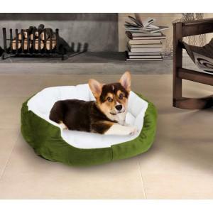 Cuccia per cani e gatti in caldo pile 50 x 40 x 15 cm cuscino