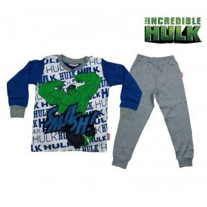 Image of MV16-109 Pigiama da bambino Hulk in caldo cotone da 4 a 7 anni 6975013115567