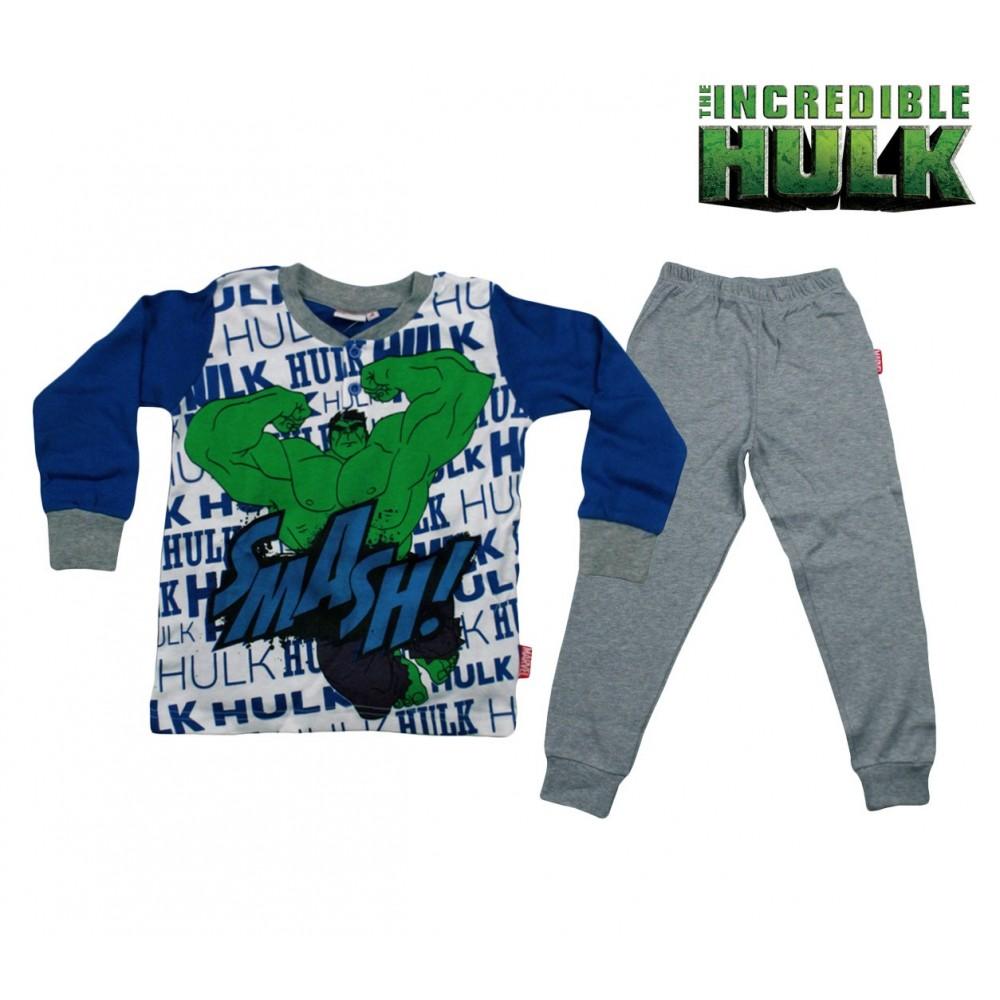 incontrare 5cb1e cd49b MV16-109 Pigiama da bambino Hulk in caldo cotone da 4 a 7 anni