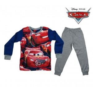 WD16-115 Pigiama da bambino Disney Cars in caldo cotone da 3 a 7 anni