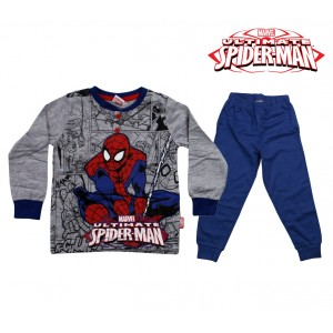 Image of MV16-002 Pigiama da bambino Spiderman in caldo cotone da 4 a 7 anni 6902564003777