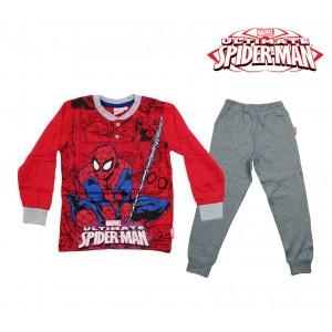 Image of MV16-022 Pigiama da bambino Spiderman in caldo cotone da 3 a 7 anni 6979841003256