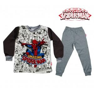 Image of MV16-119SD Pigiama da bambino Spiderman in caldo cotone da 3 a 7 anni 6981035247841