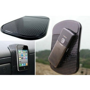 Image of Tappetino antiscivolo auto in silicone per smartphone monete porta oggetti 8805786151593