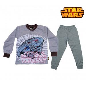 SW16-103D Pigiama da bambino Star Wars in caldo cotone da 8 a 12 anni