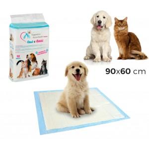 Image of 629306 Pack 12 traverse assorbenti per cani e gatti 90x60 cm cattura odori 6980643510385