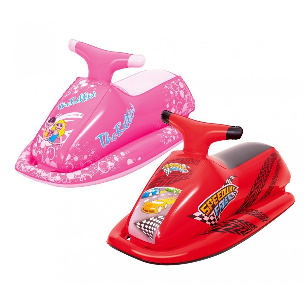 41001 Cavalcabile moto d'acqua Race gonfiabile per bambini Bestway 89x46 cm