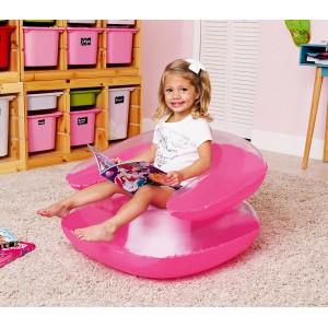 Image of 75006 Poltrona gonfiabile per bambini Bestway in tre colori 76 x 76 cm 6938002002118