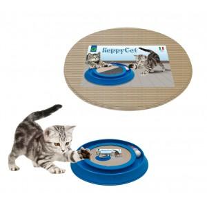 105942 Kit 6 ricambi in cartone per tiragraffi modello HAPPY CAT 24,5x21,5 cm
