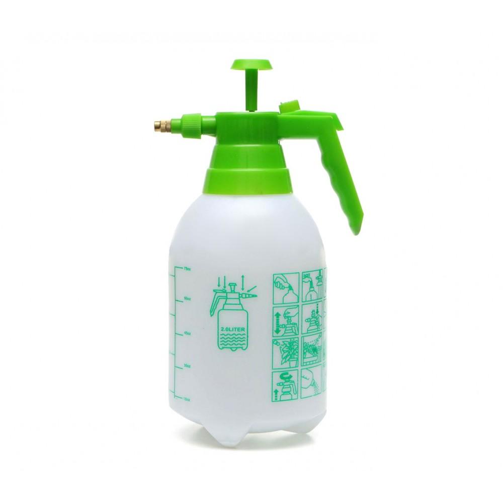 473911 Spruzzino nebulizzatore 2 litri a pressione con ugello in ottone