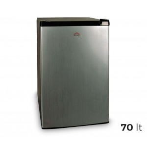 MF1070 Minifrigo DCG capacità 70Lt con porta reversibile in acciaio satinato
