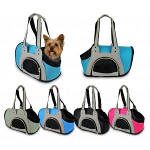 791150 Trasportino borsa per animali di piccola taglia con chiusura a zip