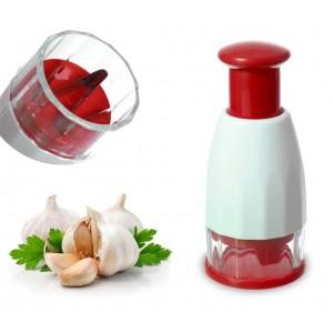 Image of 704640 Trita aglio manuale a pressione con lame in acciaio inox 6922320589895